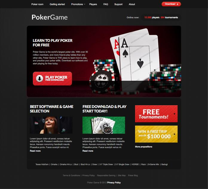 Designing a Responsive Casino Website