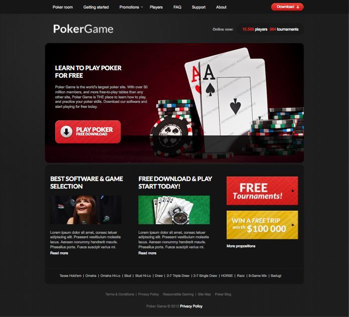 Designing a Responsive Casino Website
