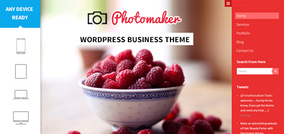 PhotoMaker WordPress Photo Theme
