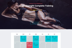 In Shape WordPress Theme for Fitness, Gym & Personal Trainers