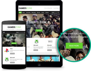 GamesZone WordPress Gaming Theme for Game Magazine!