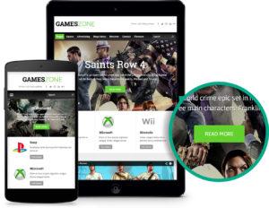 GamesZone WordPress Gaming Theme for Game Magazine!