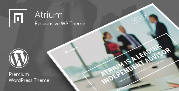 Atrium Responsive WP Blogging Theme