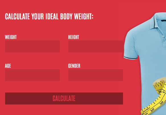 Calculate Your Ideal Body Weight BMI Sportify Theme