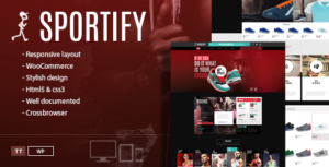 Sportify WordPress Gym / Fitness Center Theme