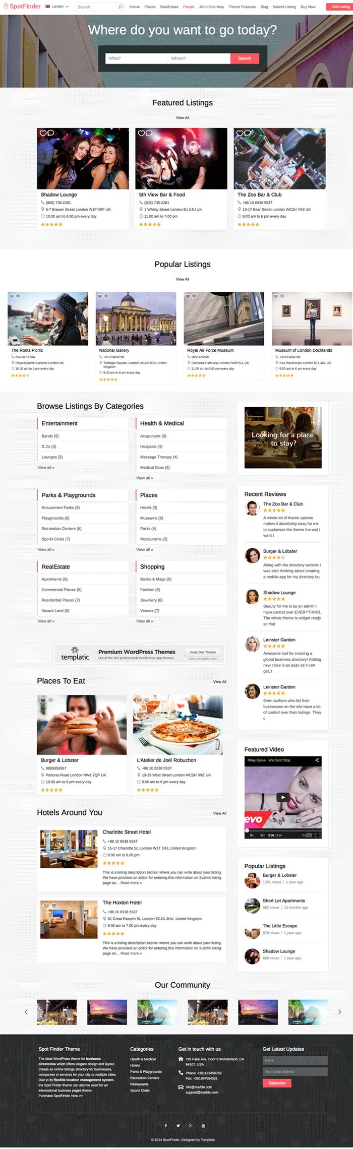 SpotFinder-WordPress-Rental-Lodging-Theme