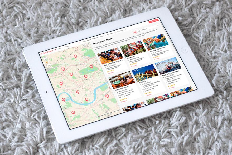 SpotFinder WordPress Travel Rentals Theme