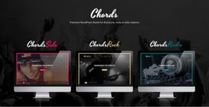 Chords WordPress Theme for Musicians, Clubs & Radio Stations