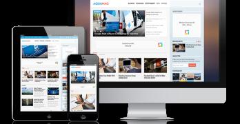 AquaMag Responsive WordPress Magazine Theme