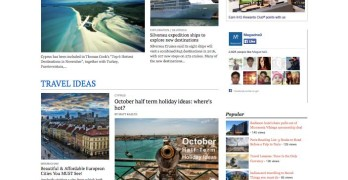 TravelNews WordPress Travel Journalists Theme