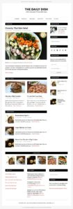 Daily Dish Pro Theme for Storyteller Or Foodie Blogger