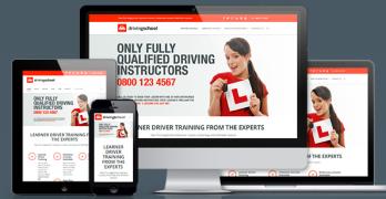 Driving School Pro Responsive WordPress Theme