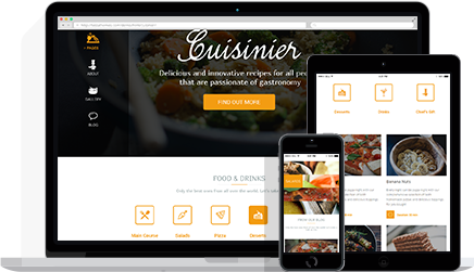 Cuisinier Responsive WordPress Food Blog Theme