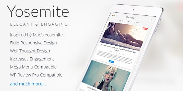 Yosemite WordPress Mac OSX Theme