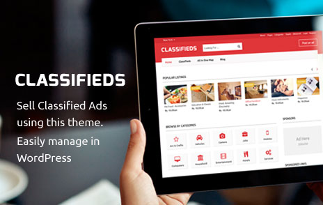How To Create A Classified Website with Classifieds WordPress Theme