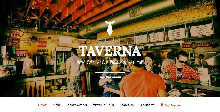 Taverna WordPress Restaurant Theme