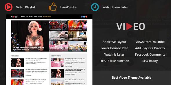 Video WordPress Media Marketing Theme