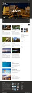 Vidiho Theme for Video Blogging & High Definition slider