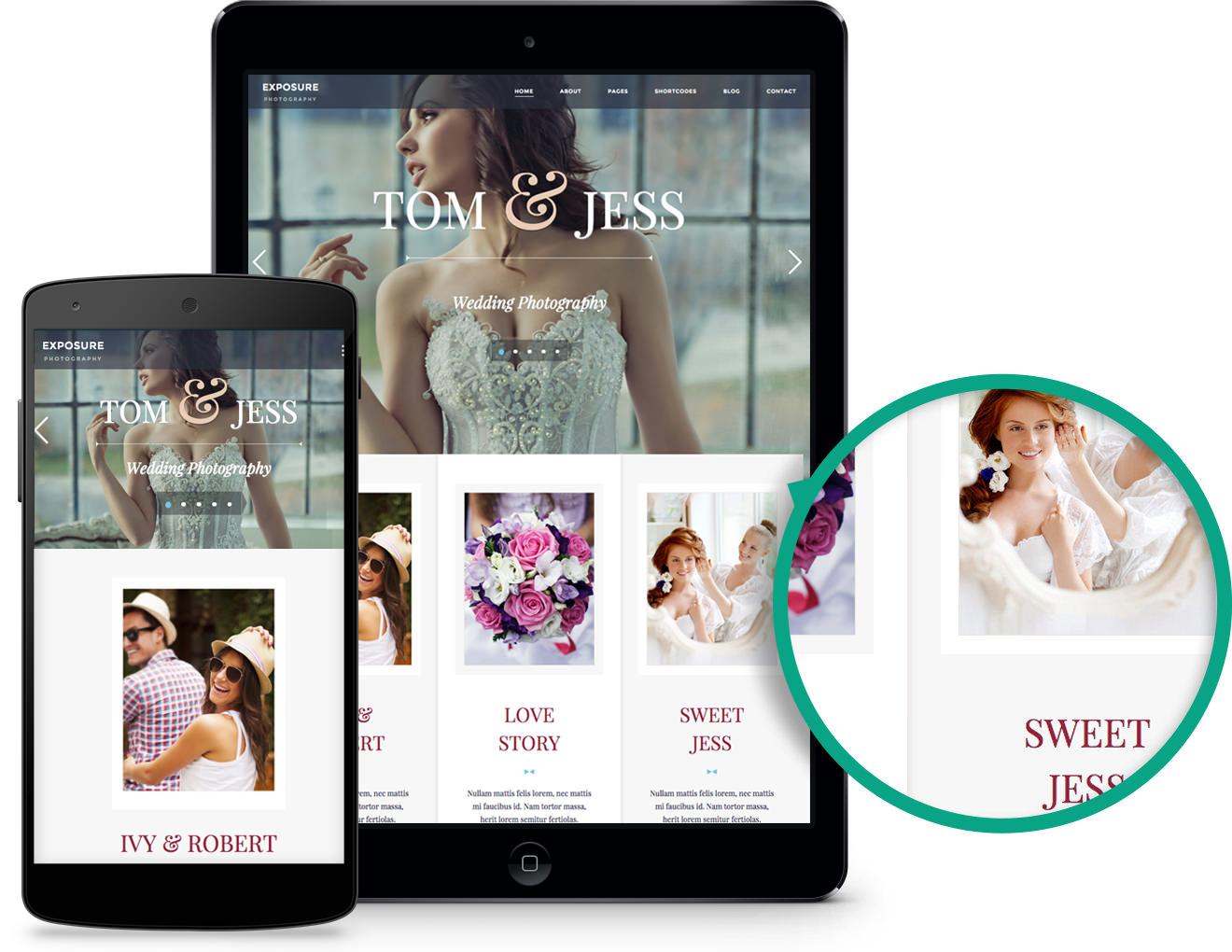 Exposure Theme for Wedding Photographers Or Hobbyists Alike!