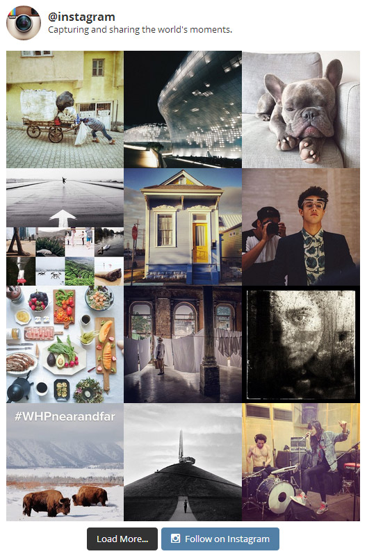 Instagram Feed WP Plugin