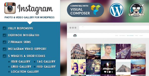 Instagram Photo & Video Gallery WP Plugin