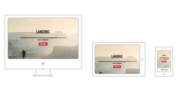 Landing Responsive WordPress Business Marketing Theme