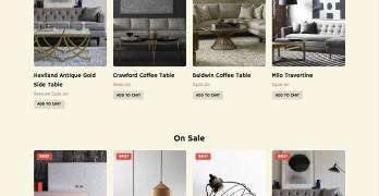 Loft Responsive WordPress Furniture Store Theme