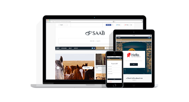 Saab Responsive WordPress Blog News Magazine Theme
