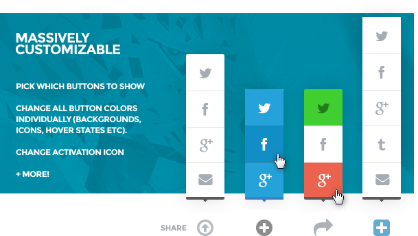 Social Share WordPress Plugin