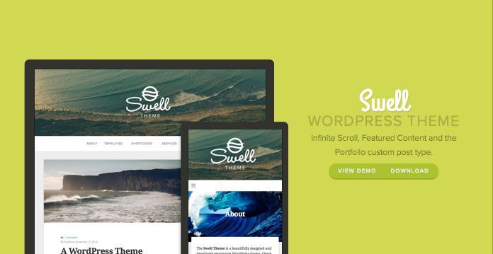 Swell WordPress Bold Magazine Theme