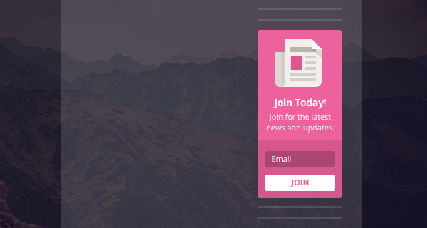 Bloom Widget Area Email Opt-In Forms WP Plugin