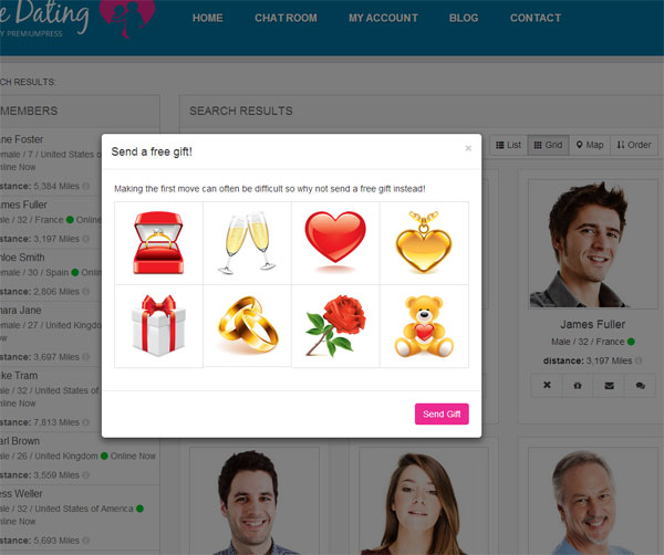 build dating website wordpress