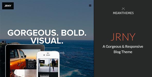 JRNY Responsive WordPress Blog Theme