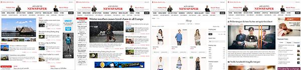 Advanced Newspaper WordPress Multiple Homepage Layouts Theme