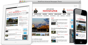 Advanced Newspaper WordPress e-Newspaper Theme
