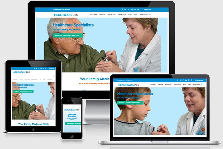 Healthcare Pro WordPress Theme for Medical, Doctors & Nurses