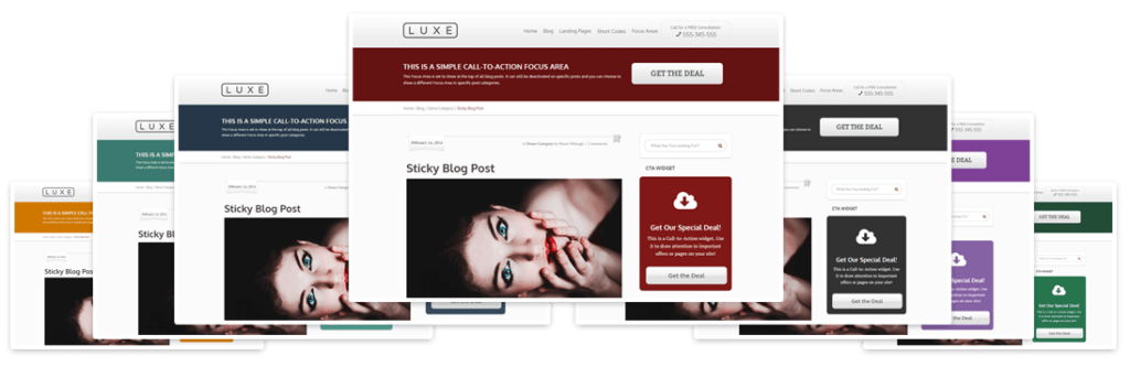 Luxe WordPress SEO Marketing Theme