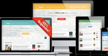 Taskerr Responsive WordPress Micro Job Theme