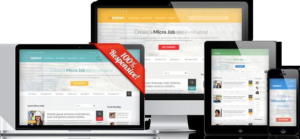 Taskerr WordPress Micro Job Theme like Fiverr & PeoplePerHour