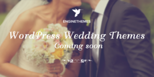 WeddingEngine WordPress Photo Gallery Theme for Bride & Groom