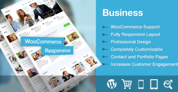 Business Responsive WordPress Portfolio Theme