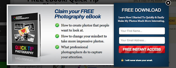 Popup Domination WP email plugin
