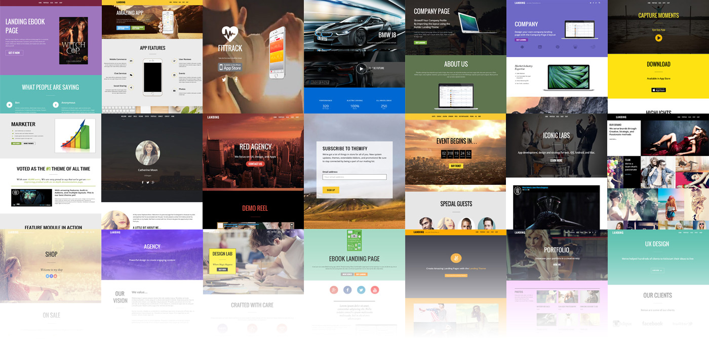 Ultra Free WordPress Unlimited Layouts Theme