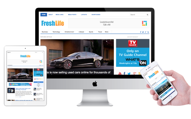 FreshLife 3.0 WordPress Magazine Theme