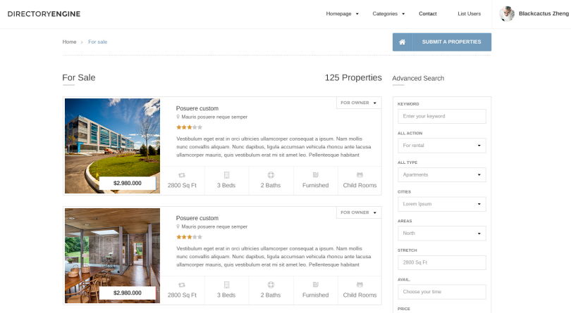 Property Details in EstateEngine Theme