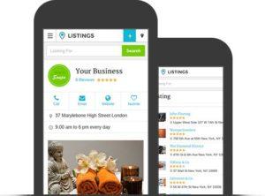 Listings WordPress Business Directory Portal Theme
