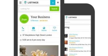Listings WordPress Responsive Directory Portal Theme