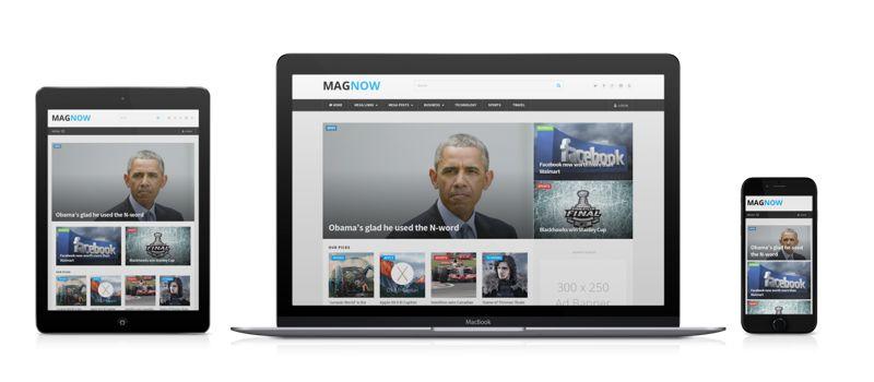 MagNow Responsive WordPress Magazine Theme