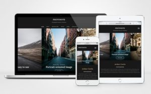PhotoNote 2.0 WordPress Landscape & Portrait Photography Theme