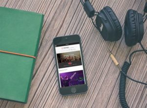 Sessions WordPress Theme for Musician, Events & Nightclub